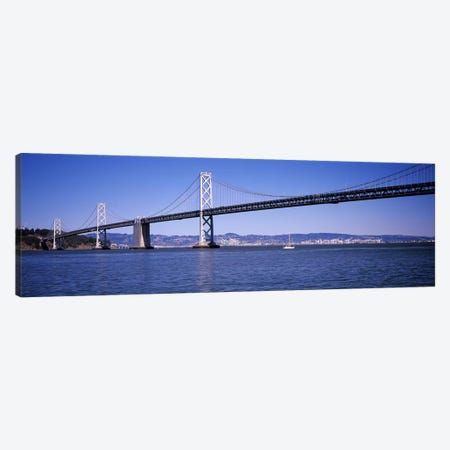 The Bay Bridge, San Francisco, CA Canvas Print #PIM10963} by Panoramic Images Canvas Print