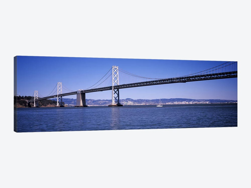 The Bay Bridge, San Francisco, CA by Panoramic Images 1-piece Canvas Print