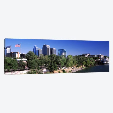Downtown Sacramento, CA, USA Canvas Print #PIM10967} by Panoramic Images Canvas Artwork