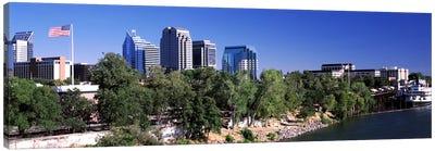 Downtown Sacramento, CA, USA Canvas Print #PIM10967
