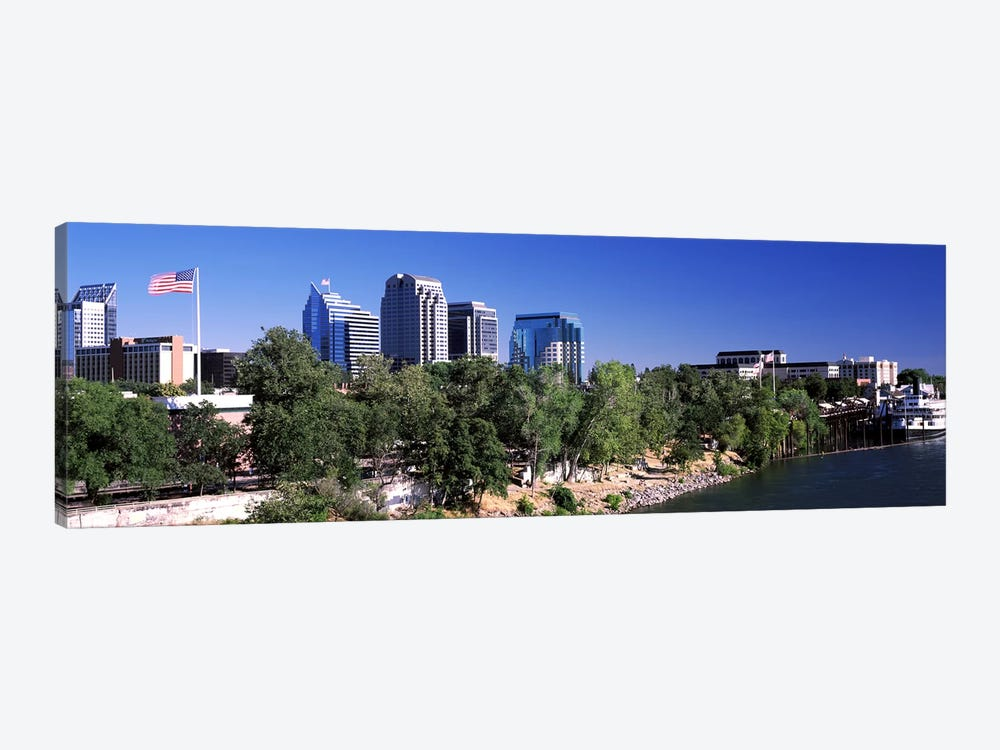 Downtown Sacramento, CA, USA by Panoramic Images 1-piece Art Print