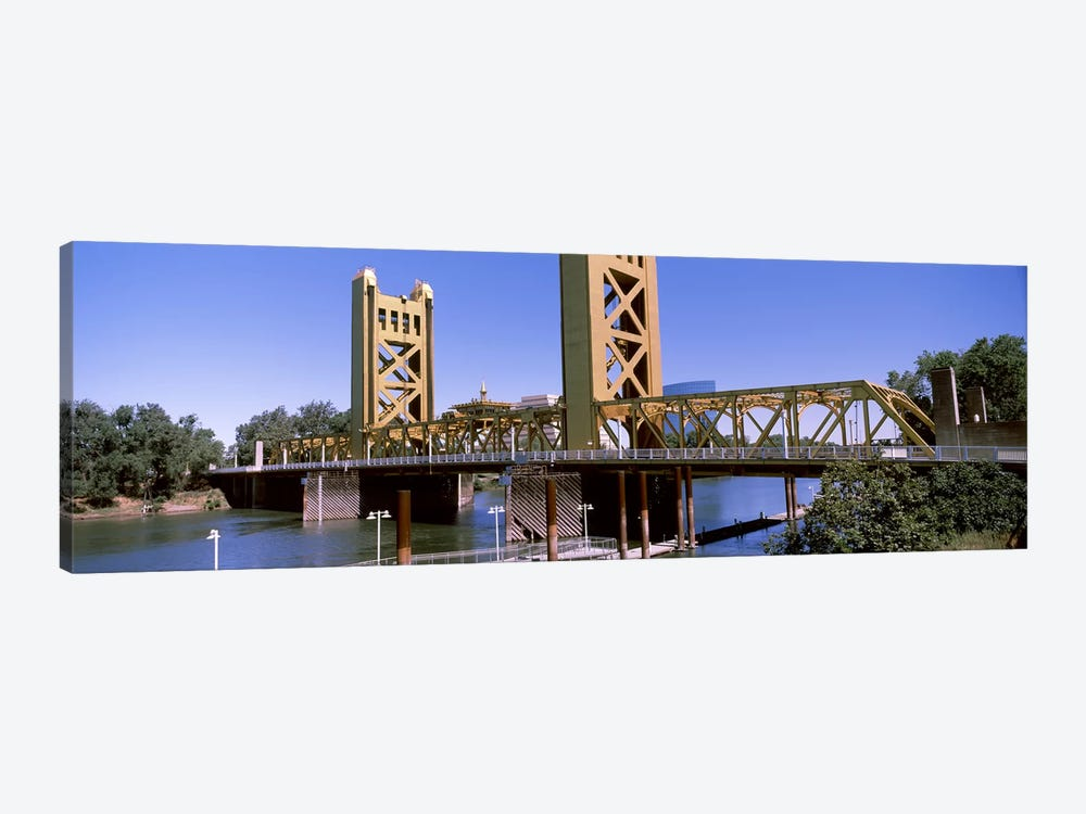 Tower Bridge, Sacramento, CA, USA by Panoramic Images 1-piece Canvas Art Print
