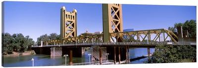 Tower Bridge, Sacramento, CA, USA Canvas Art Print