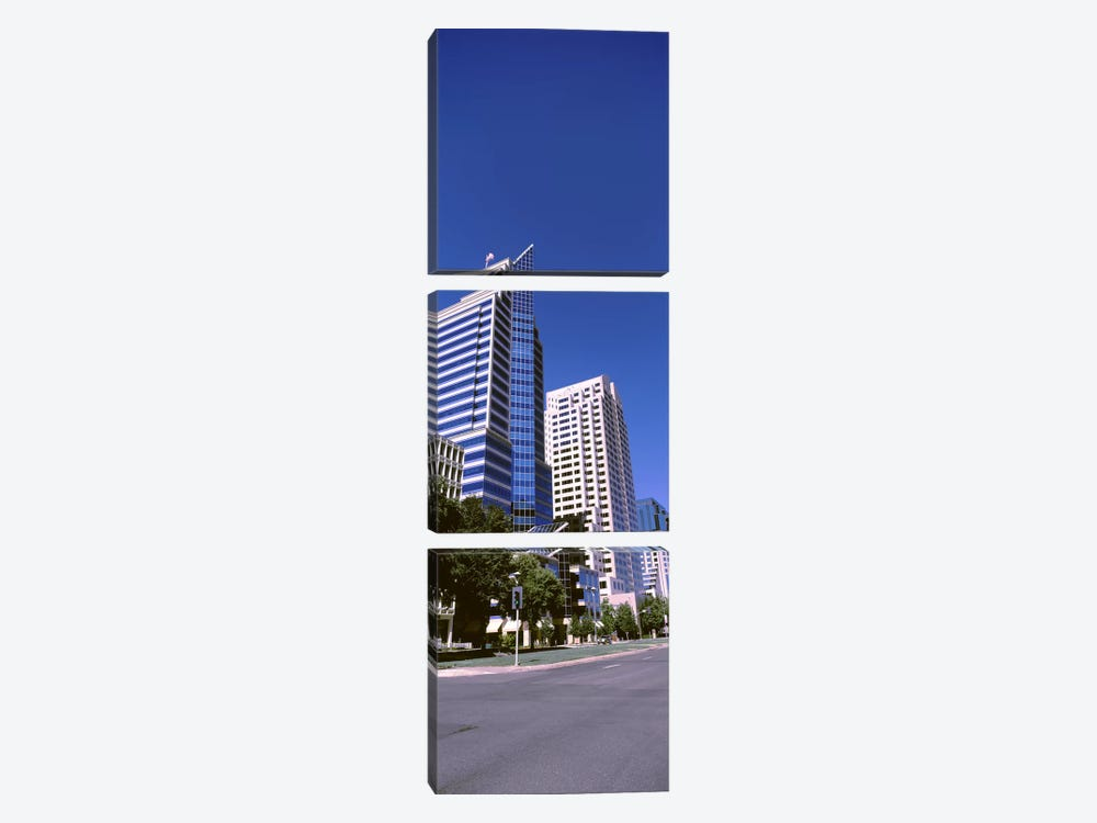 Buildings, Sacramento, CA ,USA by Panoramic Images 3-piece Canvas Print