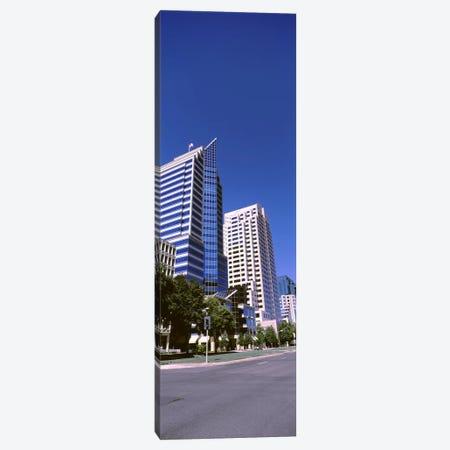 Buildings, Sacramento, CA ,USA 3-Piece Canvas #PIM10972} by Panoramic Images Canvas Artwork