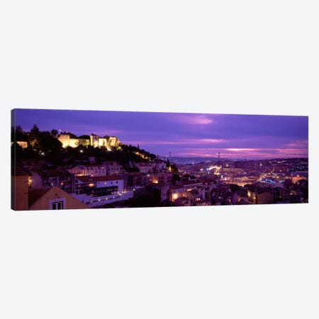 Rooftop View Of Alfama District, Lisbon, Portugal Canvas Print #PIM1097} by Panoramic Images Canvas Art Print