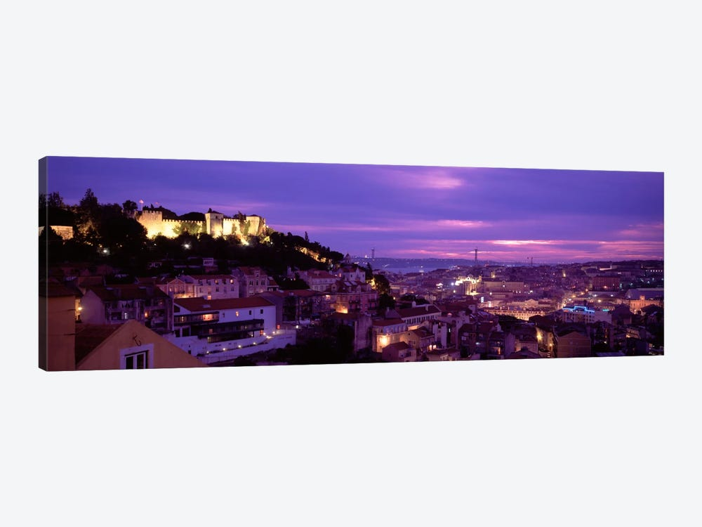 Rooftop View Of Alfama District, Lisbon, Portugal by Panoramic Images 1-piece Canvas Artwork