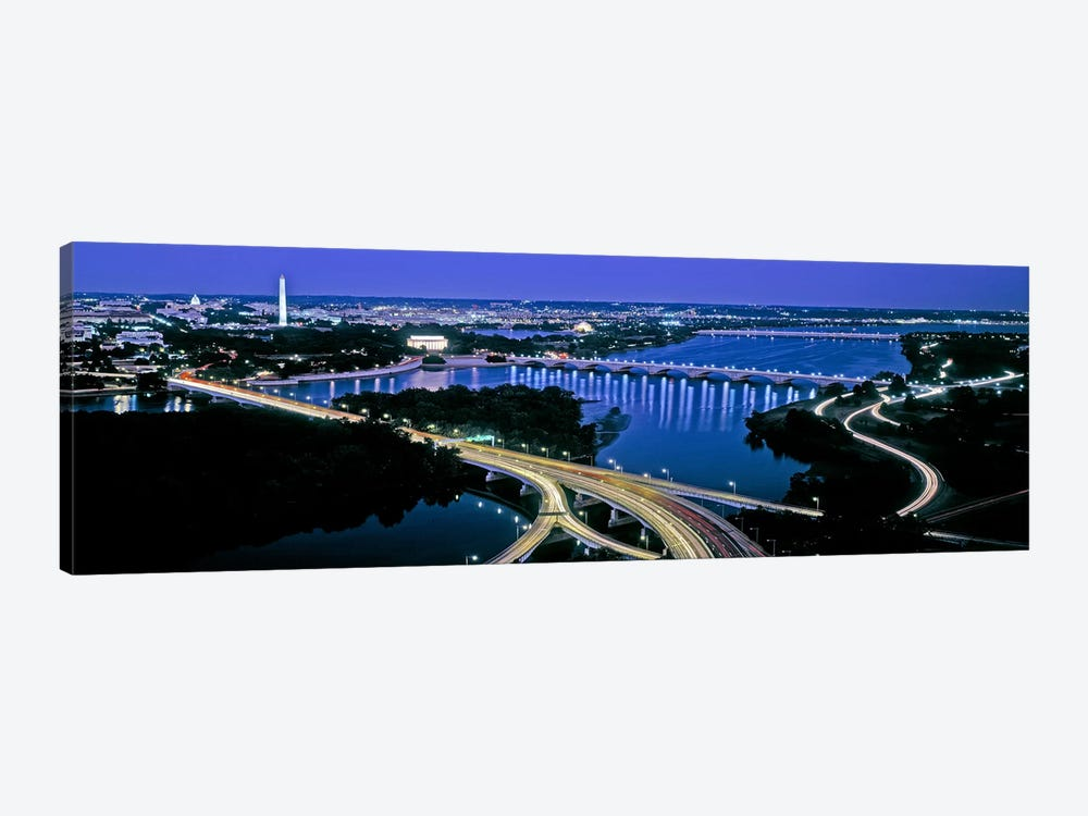 High angle view of a city, Washington DC, USA by Panoramic Images 1-piece Art Print