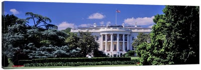 Facade of the government building, White House, Washington DC, USA Canvas Print #PIM10982