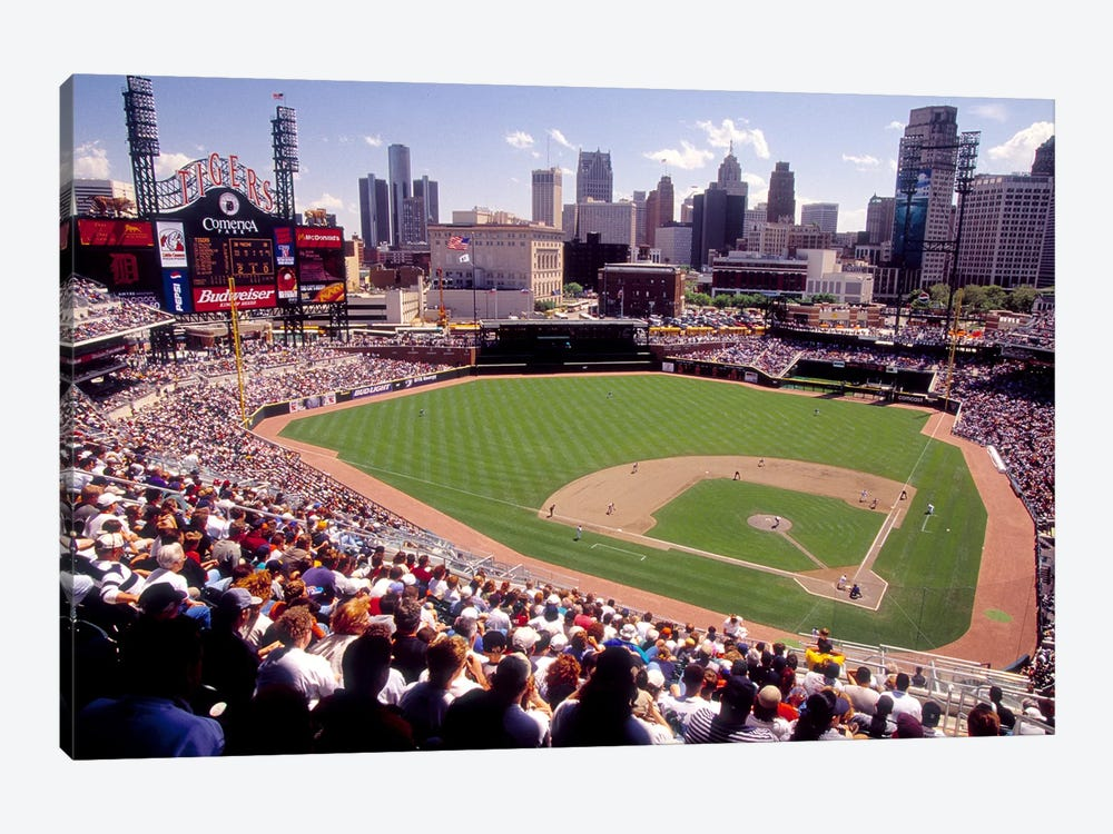 Home of the Detroit Tigers Baseball Team, Comerica Park, Detroit, Michigan, USA by Panoramic Images 1-piece Canvas Artwork