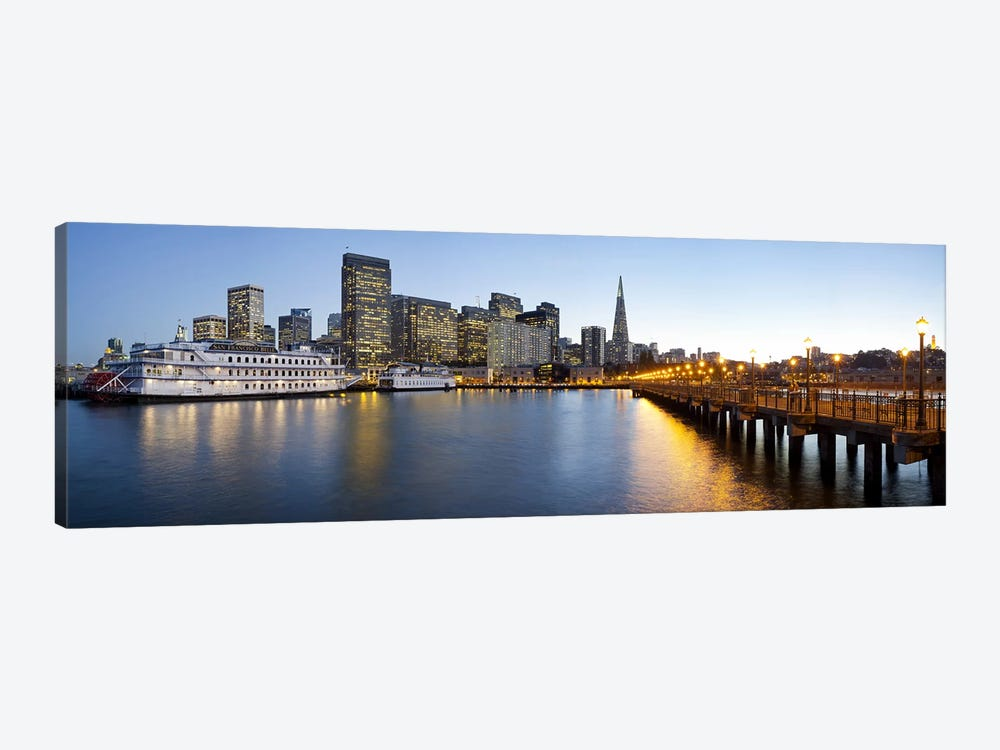 San Francisco PierSan Francisco, Califorina by Panoramic Images 1-piece Canvas Print