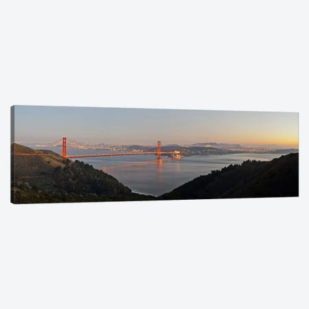 Hawk Hill, Marin Headlands, Goden Gate Bridge, San Francisco, Califorina #2 Canvas Print #PIM10989} by Panoramic Images Canvas Art Print