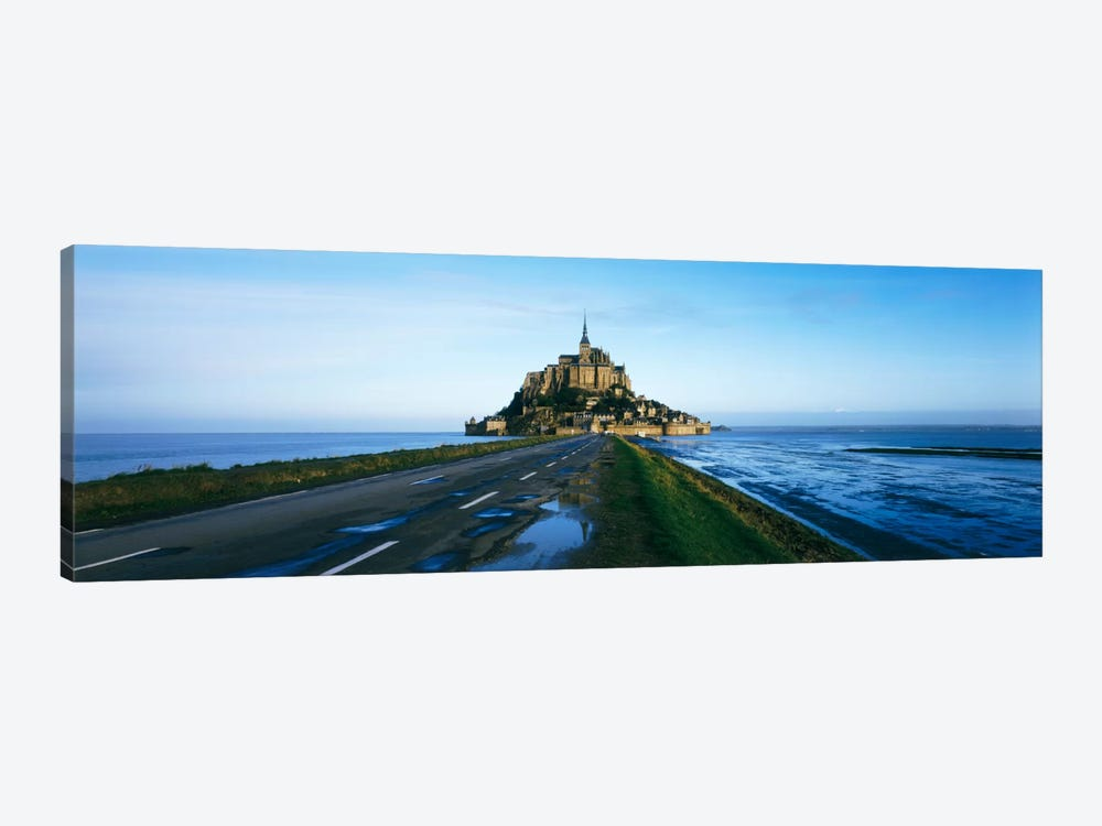 Long Shot, Le Mont-Saint-Michel, Normandy, France by Panoramic Images 1-piece Canvas Art