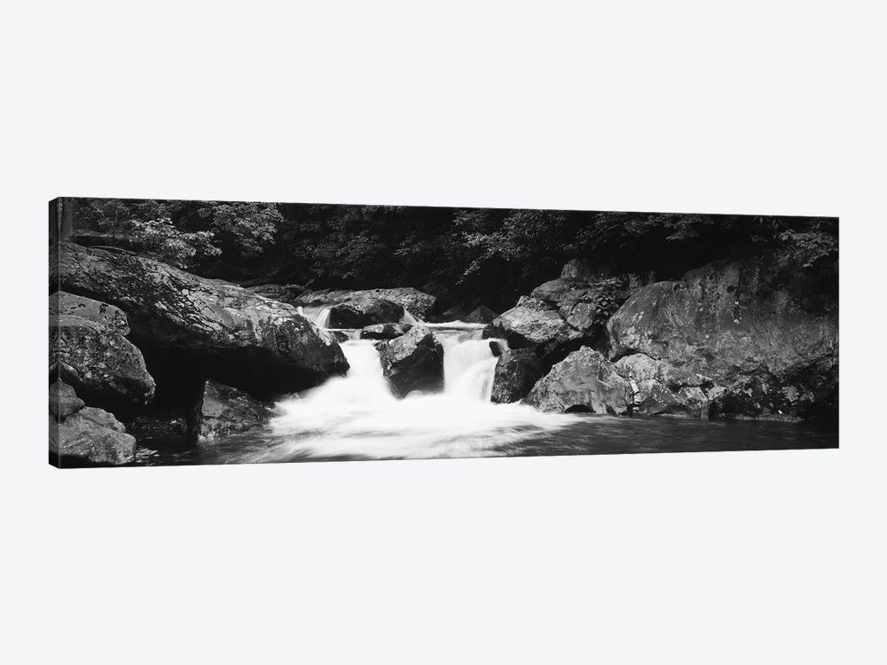 River in a forest, Tallulah River, Coleman River Scenic Area, Chattahoochee-Oconee National Forest, Georgia, USA by Panoramic Images 1-piece Canvas Print