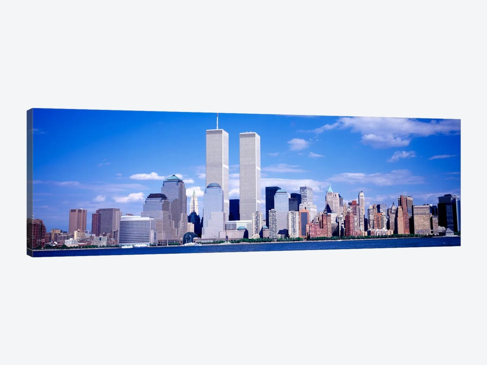 USA, New York City, with World Trade Center by Panoramic Images 1-piece Canvas Art Print