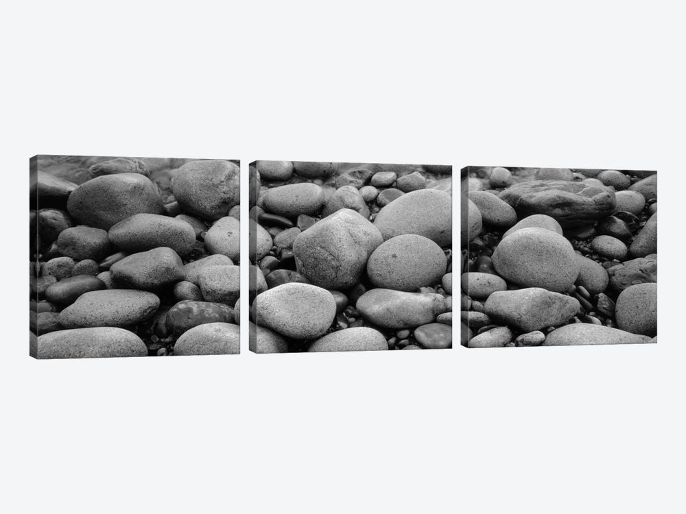 Close-Up Of Rocks, Acadia National Park, Maine, USA by Panoramic Images 3-piece Canvas Wall Art