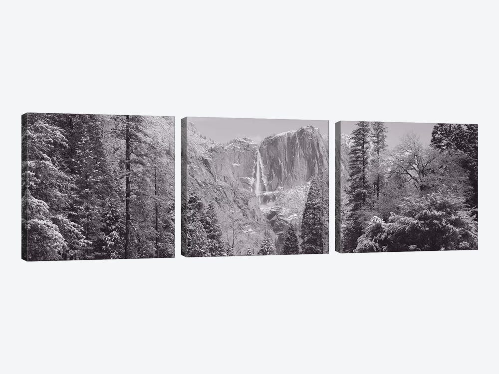 Yosemite Falls, California, USA by Panoramic Images 3-piece Canvas Print