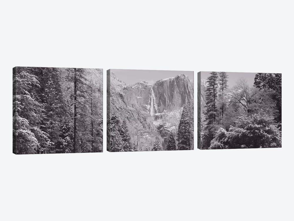 Yosemite Falls, California, USA by Panoramic Images 3-piece Canvas Print