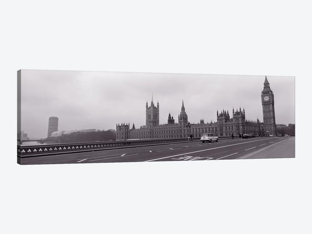 Parliament Building, Big Ben, London, England, United Kingdom by Panoramic Images 1-piece Canvas Wall Art