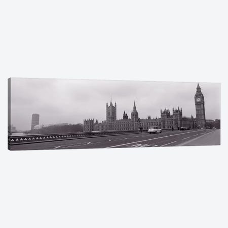 Parliament Building, Big Ben, London, England, United Kingdom Canvas Print #PIM11044} by Panoramic Images Canvas Art