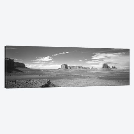 Desert Landscape, Monument Valley, Navajo Nation, USA Canvas Print #PIM11049} by Panoramic Images Canvas Print