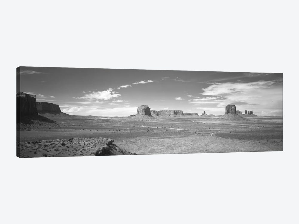 Desert Landscape, Monument Valley, Navajo Nation, USA by Panoramic Images 1-piece Canvas Print