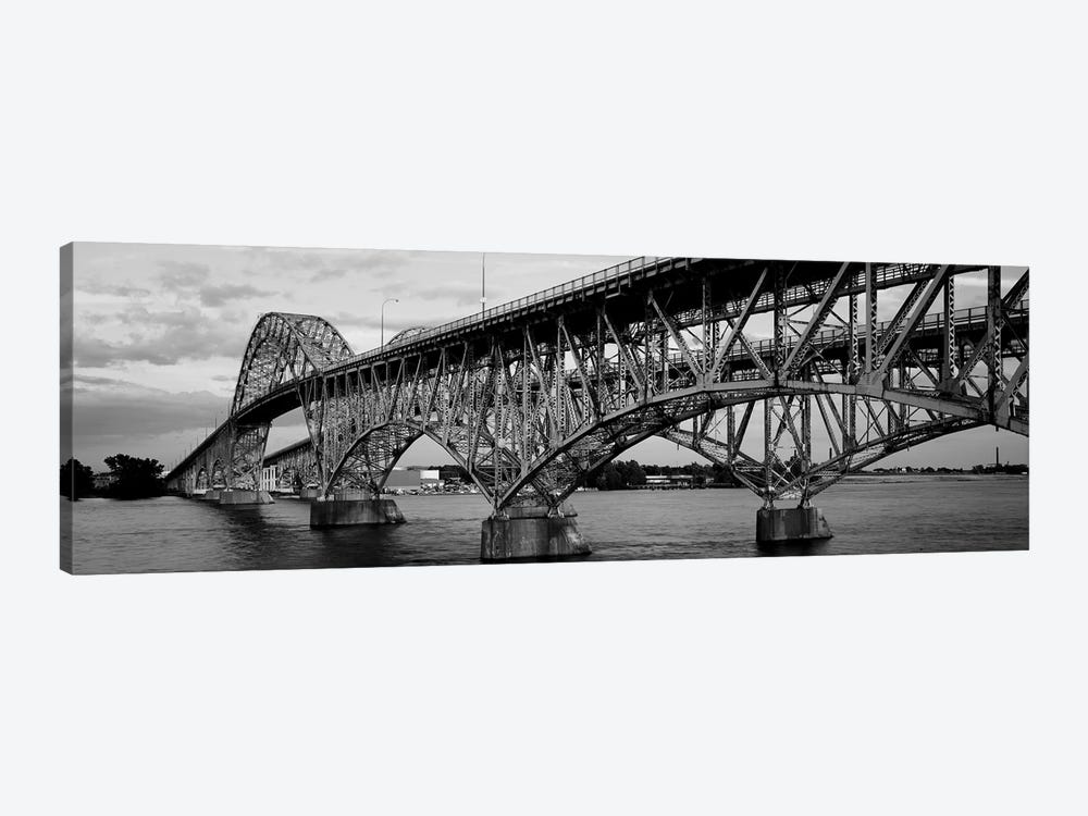 South Grand Island Bridges, New York State, USA by Panoramic Images 1-piece Canvas Art Print