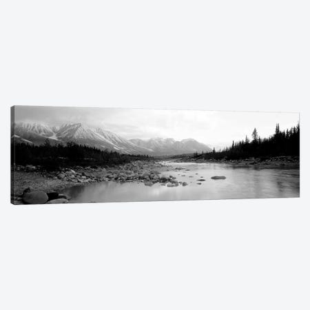 USA, Alaska, Kennicott River Canvas Print #PIM11060} by Panoramic Images Art Print