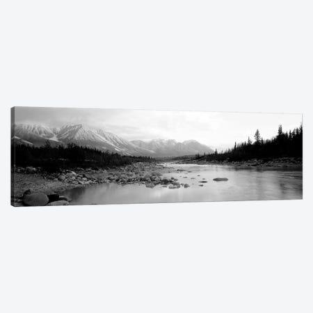 USA, Alaska, Kennicott River Canvas Print #PIM11060} by Panoramic Images Art Print