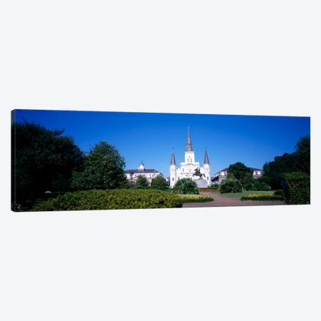 Jackson Square, New Orleans, Louisiana, USA #2 Canvas Print #PIM1106} by Panoramic Images Art Print