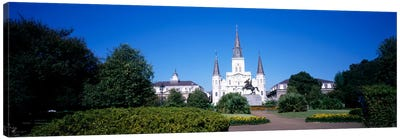 Jackson Square, New Orleans, Louisiana, USA #2 Canvas Art Print