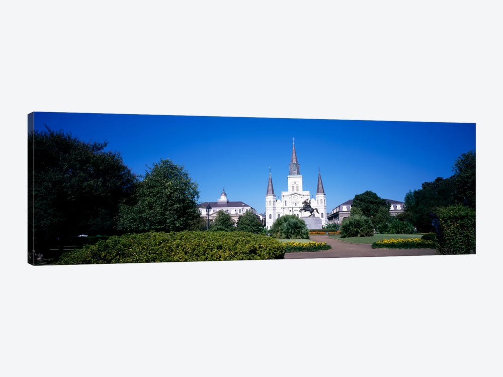 Jackson Square, New Orleans, Louisiana, USA #2 by Panoramic Images 1-piece Canvas Art Print