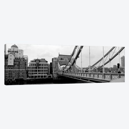 Tower Bridge, London, England, United Kingdom 3-Piece Canvas #PIM11072} by Panoramic Images Canvas Wall Art