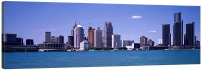 Detroit MI USA Canvas Art Print