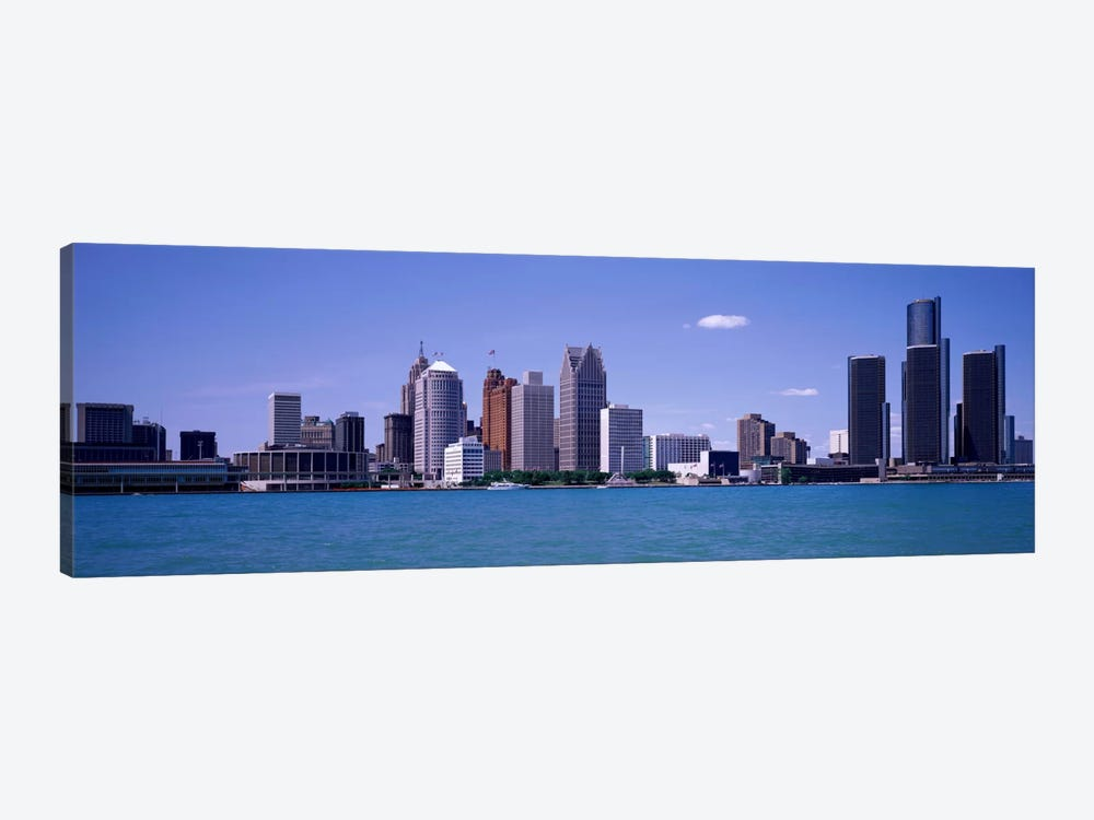 Detroit MI USA by Panoramic Images 1-piece Canvas Art
