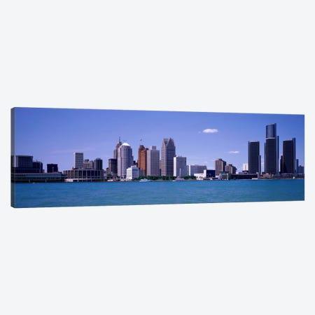 Detroit MI USA Canvas Print #PIM1107} by Panoramic Images Art Print