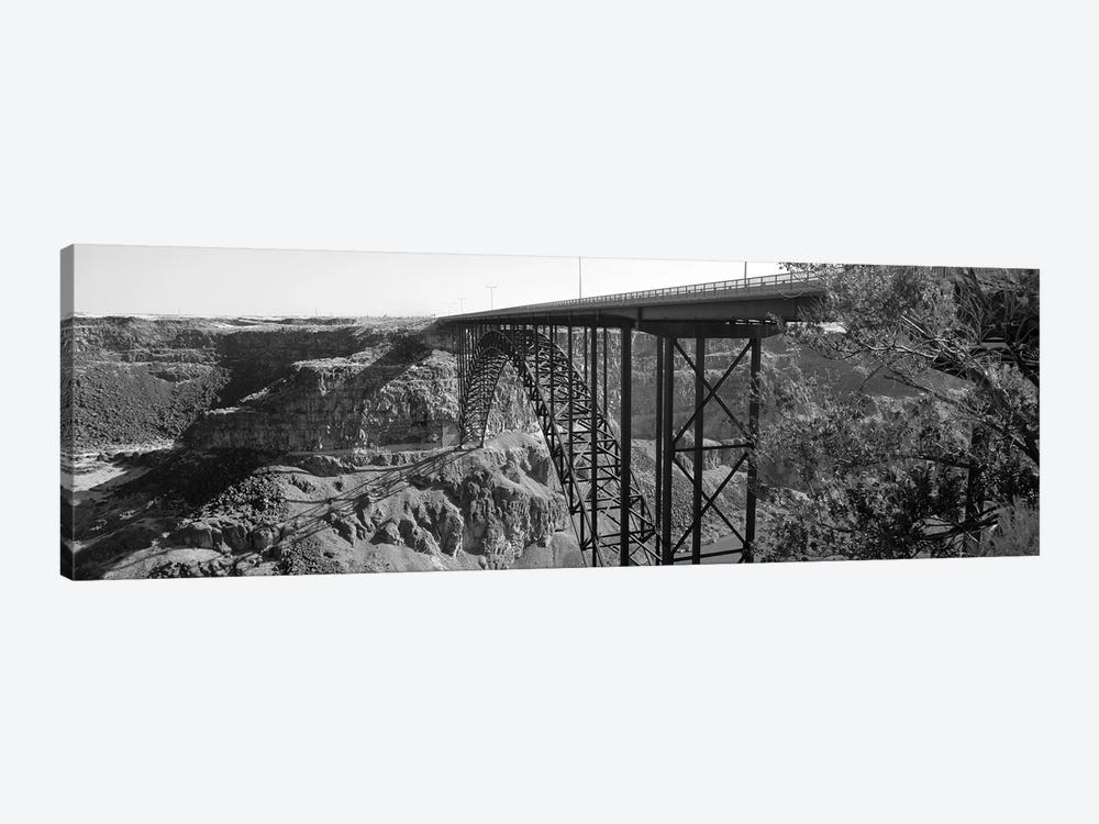Snake River Bridge, Twin Falls, Idaho, USA by Panoramic Images 1-piece Canvas Artwork