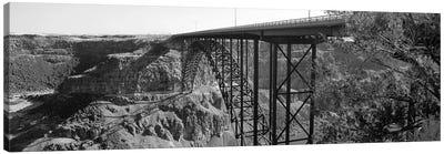 Snake River Bridge, Twin Falls, Idaho, USA Canvas Art Print
