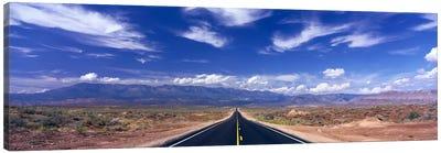 Cloudy Southwestern Landscape, Zion National Park, Utah, USA Canvas Print #PIM1109