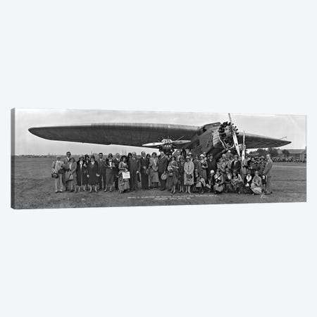 Amelia Earhart Washington DC Airfield Canvas Print #PIM11105} by Panoramic Images Canvas Print