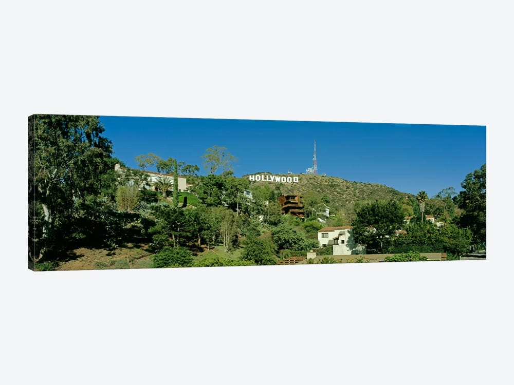USA, California, Los Angeles, Hollywood Sign at Hollywood Hills by Panoramic Images 1-piece Canvas Artwork