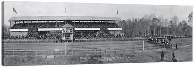 Bowie Race Track Bowie MD Opening Day Fall Meet November 13 1915 Canvas Art Print