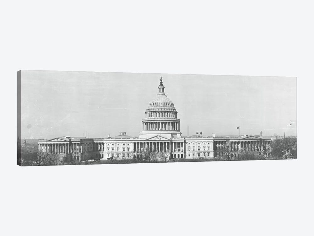 US Capitol Washington DC 1916 by Panoramic Images 1-piece Canvas Artwork