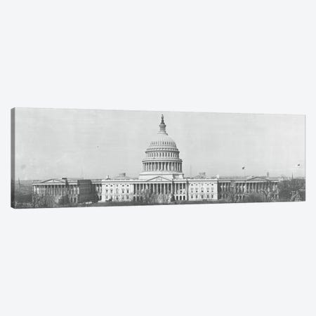 US Capitol Washington DC 1916 Canvas Print #PIM11114} by Panoramic Images Canvas Wall Art
