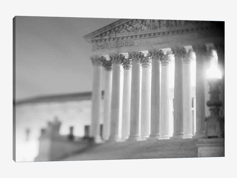 Night US Supreme Court Washington DC by Panoramic Images 1-piece Canvas Art Print
