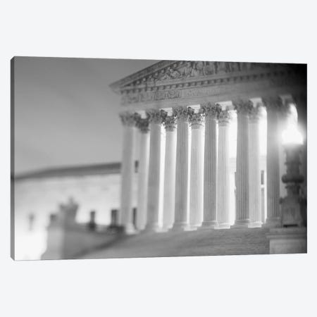 Night US Supreme Court Washington DC Canvas Print #PIM11133} by Panoramic Images Canvas Print
