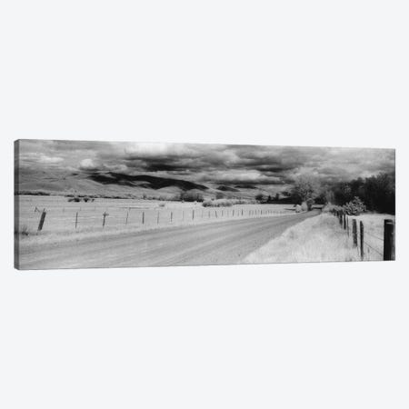 Country Road, Montana, USA Canvas Print #PIM11141} by Panoramic Images Canvas Artwork