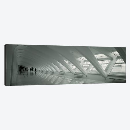 Interior Milwaukee Art Museum, Milwaukee, Wisconsin, USA Canvas Print #PIM11153} by Panoramic Images Art Print