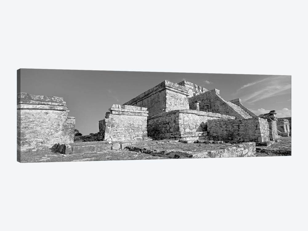 El Castillo, Tulum Archaeological Zone, Quintana Roo, Mexico by Panoramic Images 1-piece Canvas Wall Art