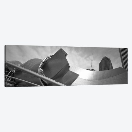 Low Angle View Of Buildings, Pritzker Pavilion, Millennium Park, Chicago, Illinois, USA Canvas Print #PIM11208} by Panoramic Images Canvas Art Print